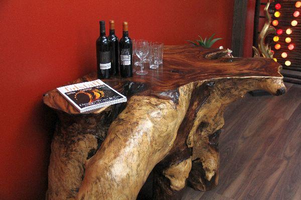 Sideboard, Konsole, Tisch, Suar, Wurzel, Holz, Massiv, Natur, 200cm
