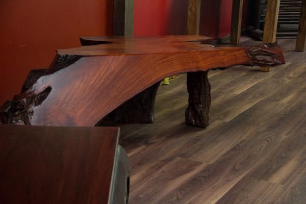 sideboard konsole rosenholz 160x115x48 wurzel suar holz massiv highboard tisch ebay. Black Bedroom Furniture Sets. Home Design Ideas