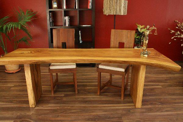 esstisch bauerntisch suar holz 220x91x75 designer schreibtisch k chentisch neu ebay. Black Bedroom Furniture Sets. Home Design Ideas