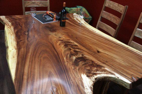 Esstisch, Suar, Holz, Massiv, Küchentisch, Schreibtisch, 160x127x75