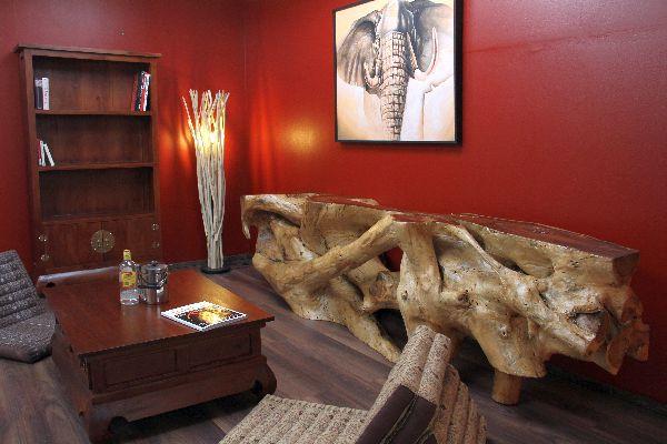 sideboard suar suarholz wurzel holz massiv natur 286cm 350kg. Black Bedroom Furniture Sets. Home Design Ideas