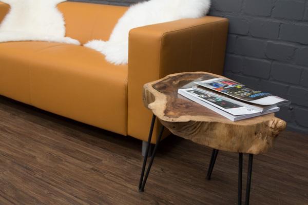 baumstamm beistelltisch massivholz baumscheibe suar 53x40. Black Bedroom Furniture Sets. Home Design Ideas