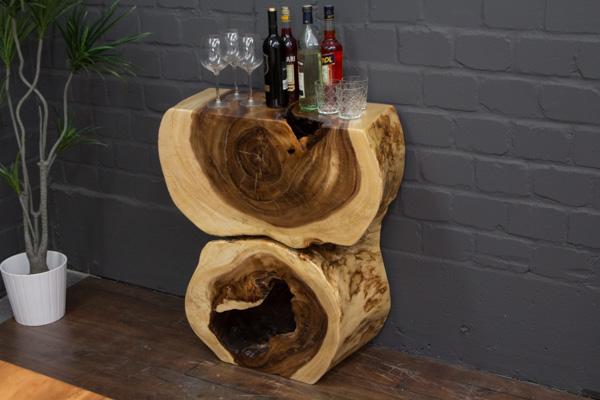 Baumscheiben Konsole Aus Einem Suar Massivholz Baumstamm Nr16300