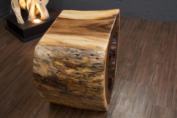 beistelltisch baumscheibe konsole baumstamm suar scheibe natur wurzel tisch neu ebay. Black Bedroom Furniture Sets. Home Design Ideas