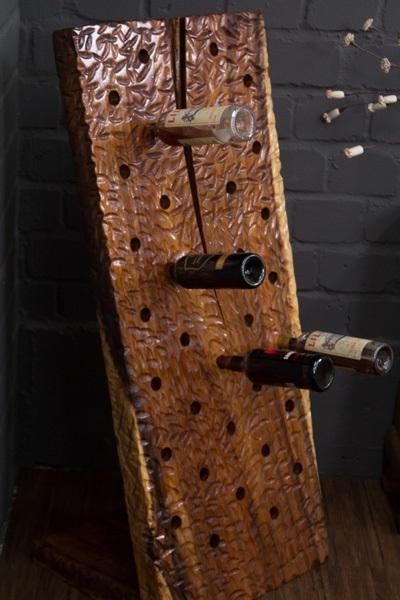 massivholz weinst nder aus edlem suar baumstamm holz. Black Bedroom Furniture Sets. Home Design Ideas